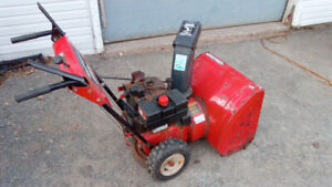 SNOWBLOWER - 8HP - ELECTRIC START