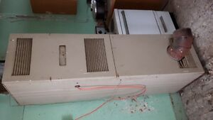 Coleman Oil-Fired Furnace & Storage Tank Combo, $150 Takes It