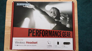MUST SELL!!!   SHURE Wireless Headset  PG30
