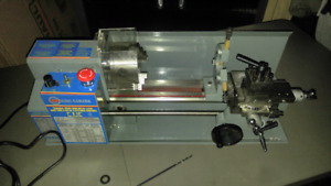 "King Canada 7"" x 12"" Mini Metal Lathe"