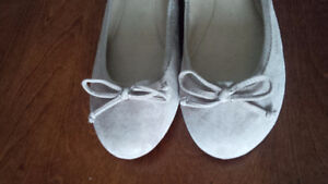 New Suede Beige Shoes - for sale ! Kitchener / Waterloo Kitchener Area image 1