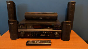 Pioneer VSX-818V Receiver and Precision Acoustic Speakers
