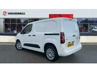 2019 Vauxhall COMBO CARGO Combo L1 Diesel 2300 1.5 Turbo D 100ps H1 Sportive Van