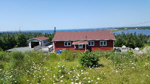 Ocean View 3 bedroom House with Lake Access Nova Scotia