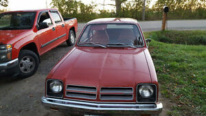 1976 chevette low miles matching #s car