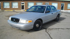 2003 Ford Crown Victoria X Police Sedan