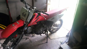 2009 Honda CRF150f 4 Stroke Dirt Bike