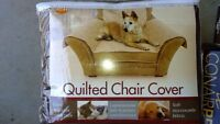 Brand New Quilted Chair Cover. Never been used. In packaging