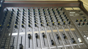 Phonic Pro Mixing Console DOM 12 x 2