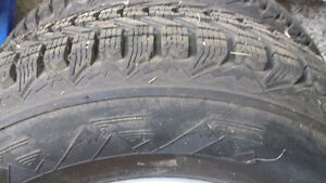 Winter Tires and Rimms - Like new for SUV/Small Truck - $550 OBO Kingston Kingston Area image 2