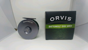 Orvis battenkill disc reel with backing