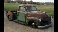 Wanted 1947-1955 shop truck or project