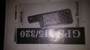 HANDHELD MAGELLAN SATELLITE GPS MODEL 315/330. 30.00FIRM