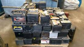 Scrap batteries and alloy wheels wanted !