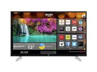 """43"""" BUSH SMART WIFI 4K ULTRA HD HDR LED TV CAN POSSIBLY DELIVER"""