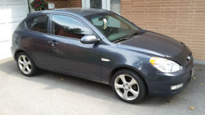 REDUCED 2009 Hyundai Accent Sport $3750 OBO MUST SELL.