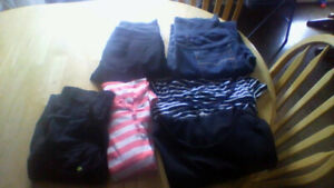 Maternity Clothes Lot size medium, large and XL sweater