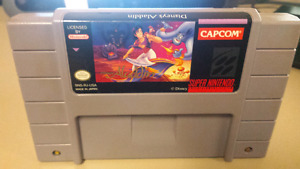 Disney's Aladdin game for Super Nintendo