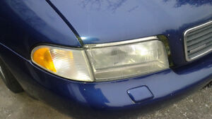 Audi A4  headlight with signal light,