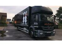 Mercedes-Benz AXOR 1824 BOX WITH TAIL LIFT MANUAL GEARBOX 2012 12
