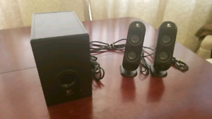 Logitech X-230 Speakers with Subwoofer