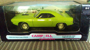 1970 6-pack Challenger R/T 118 scale diecast