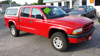 2003 Dodge Dakota QUAD CAB 4X4 *** CLEAN CERTIFIED *** $5995