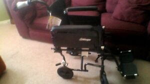 Airgo Wheel Chair, Comfort Plus, Collapsible