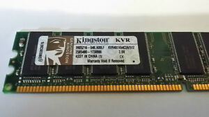 Kingston 512mb pc3200 ddr 400mhz