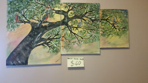 Freshly painted paintings by V.S,