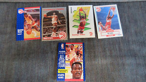 Dominique Wilkins NBA cards(5)