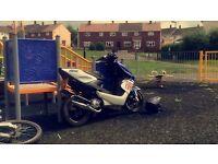 Yamaha Aerox Rossi Rep Moped 2008, high 50s!