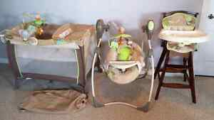 3 piece matching Carters Baby Furniture set