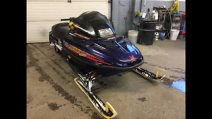 Skidoo 583 with trailer