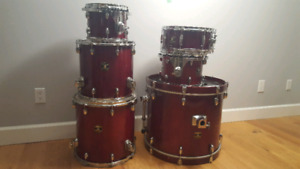 Gretsch 6 piece Catilina Maple Drum set