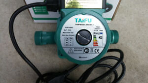 Circulator Pump 110v 55L/m 1 inch NPT 3 speed