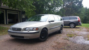 Get your band to the next gig  in a 2001 Volvo V70