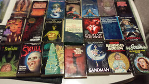 Lot of Vintage Horror PB. Rare! Babydoll,Toy Cemetary,Carnosaur!