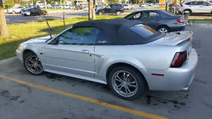 2000 Ford Mustang GT Convertible Automatic Silver