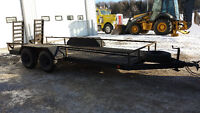 17ft Utility/ Machinery trailer