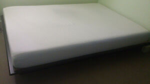Bed frame and matress like new condition