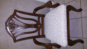 Full set of 12 Eligent French provincial dinning room chairs