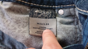 Brand new without tags* Women's Silver Jeans size 27