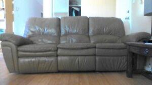 Sofa en cuire elran