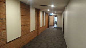* Character Office Space for Lease on Jasper Ave