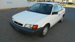 1997 Toyota Tercel Auto COMSE WITH 6 MONTS WARRANTY