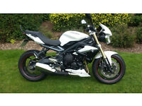 Triumph Street Triple 675 600 miles PX Swap UK Delivery