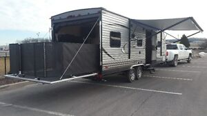 NEW 2017 COACHMEN 26' TOY HAULER TRAIL BLAZER PACKAGE INCLUDED