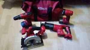 Tool Shop 18v cordless power tool set Cambridge Kitchener Area image 1