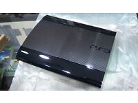 PS3 super slim with GTA 5 , WWE AND MORE